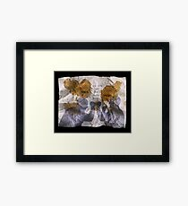We are on the same page. Framed Print