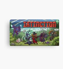 IXTINCTION Retro Splash Canvas Print