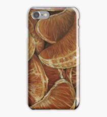 Orange fruit  iPhone Case/Skin