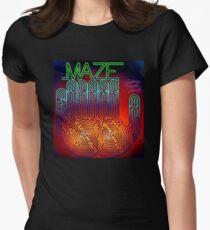 Maze feat Frankie Beverly Tour 2017 LUKILUKE LL satu Womens Fitted T-Shirt