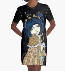 Sapphire Graphic T-Shirt Dress