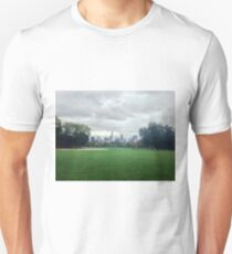 Upper East Side City Skyline from Central Park, New York City (NYC) Unisex T-Shirt