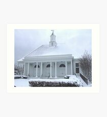 watch hill chapel Art Print