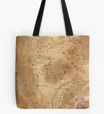 The Dark Tower - Mid-World Map Tote Bag