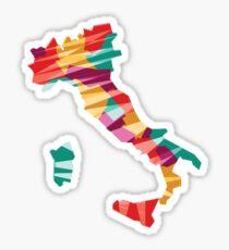 Geometric Italy Sticker