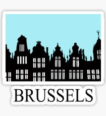 Brussels Grand Place / Grote Markt Sticker