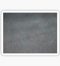 Bumpy surface of a sheet of slate gray  Sticker