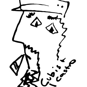 Cubist Fidel by grimreaperess