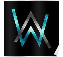 Alan walker posters redbubble - Alan walker logo galaxy ...