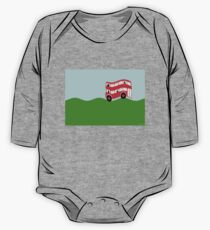 Double Decker bus One Piece - Long Sleeve