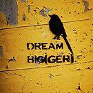 DREAM BIG(GER) by Ronald Hannah
