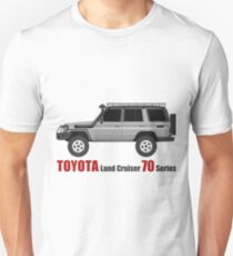 TOYOTA hzj77 side bullbar with SpareTire  (machito) T-Shirt