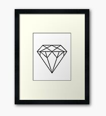 Diamond Printable Affiche Scandinave Scandinavian Geometric Decor Wall Art Geometric Print Home Decor Printable Poster Framed Print
