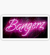 Bangerz Neon Sign Sticker