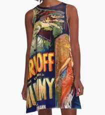 Vintage poster - The Mummy A-Line Dress