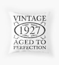 Vintage 1927 Throw Pillow