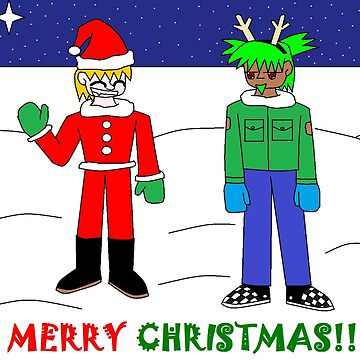 Merry Christmas from Lee and Larry by Scifiguy9000