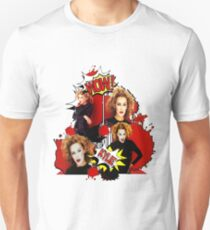 Kylie Minogue - Confide In Me - Comic Book Red T-Shirt