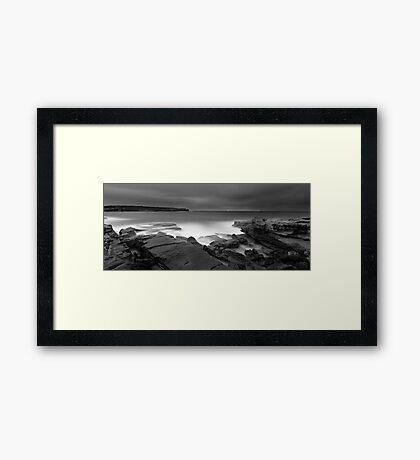 Long Bay Exposed Framed Print