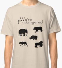 We're Endangered Classic T-Shirt