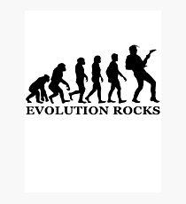 evolution rocks Photographic Print