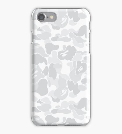 BAPE White Camo iPhone Case/Skin