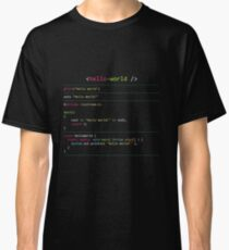 Hello World in Multiple Languages Classic T-Shirt