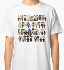 Doctor Who all together now Classic T-Shirt