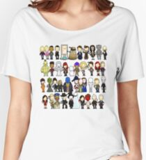 Doctor Who all together now Women's Relaxed Fit T-Shirt