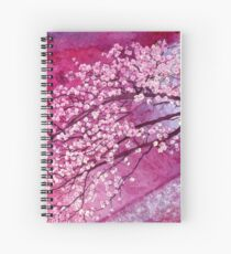 Cherry Blossoms Spiral Notebook