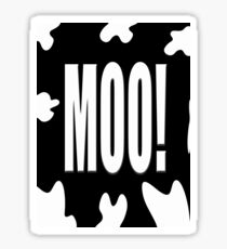 Moo! Sticker