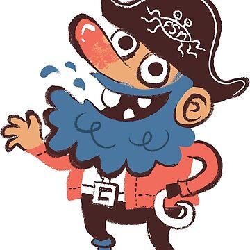 Cap'n Bluebeard by pastafarian
