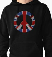 Peace sign and Union Jack T-Shirt