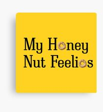 Mu Honey Nut Feelios Canvas Print