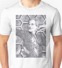 Jimmy Price - King of the bees BW Unisex T-Shirt