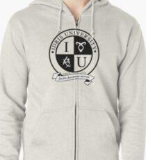 Idris University (light-based) Zipped Hoodie