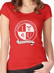 Idris University (dark-based) Women's Fitted Scoop T-Shirt