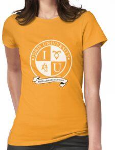 Idris University (dark-based) Womens Fitted T-Shirt
