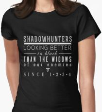 "The Mortal Instruments: ""Shadowhunters"" Womens Fitted T-Shirt"