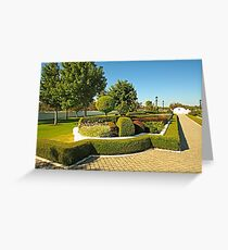 Topiary Gardens #3 Greeting Card
