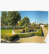 Topiary Gardens #3 Poster