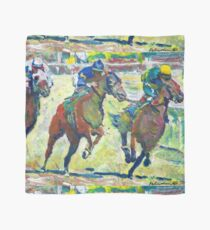 At The Horse Races, Horse Picture Scarf