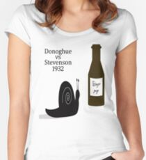 Donoghue vs Stevenson 1932 Women's Fitted Scoop T-Shirt