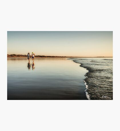 Evening Stroll Photographic Print