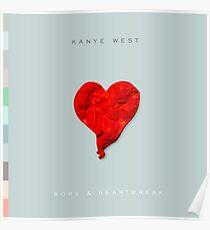 808s and heartbreak Poster