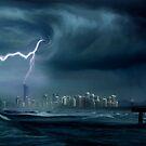 Gold Coast storm by Cliff Vestergaard