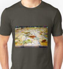 Selective focus on fallen autumn maple leaves Unisex T-Shirt