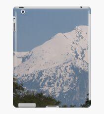 snowy mountain iPad Case/Skin