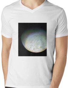 Detail of Triton Mens V-Neck T-Shirt