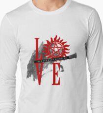 Always Keep Fighting - Supernatural LOVE T-Shirt
